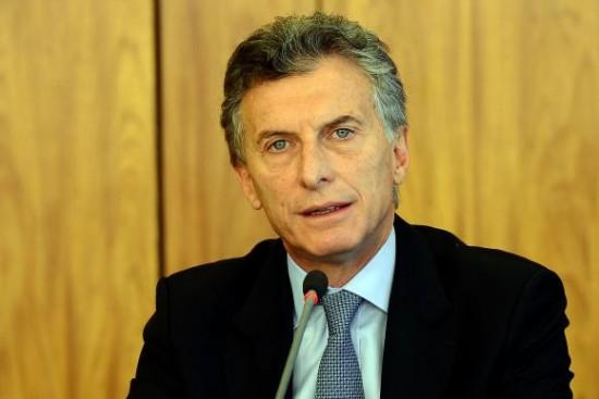 アルゼンチンのマウリシオ・マクリ大統領
